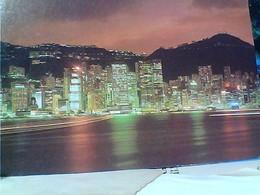 HONG KONG BY NIGHT TIMBRE SELO STAMP 1,80 $  GX5614 - Cina (Hong Kong)