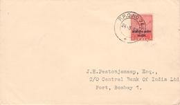 INDIA - MILITARY In INDOCHINE LETTER 1955 Mi #3 - Militärpostmarken