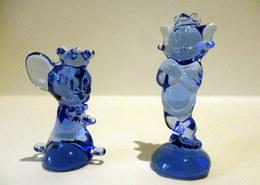 Fèves Transparentes Bleues -  Les Rêves De Tom & Jerry  - TM & TEC - Cartoons