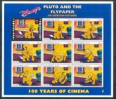 NctA307c WALT DISNEY HONDEN DOGS PLUTO AND THE FLYPAPER CINEMA FILM KINO HUNDE CHIENS MALDIVES 1996 PF/MNH - Disney