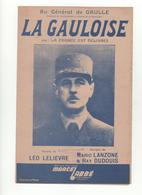 Partition La Gauloise Au Général De Gaulle - Partituras