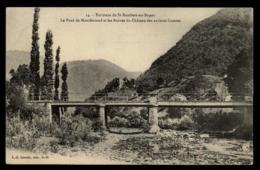 01 - Saint-Rambert-en-Bugey 14. - Environs De St-Rambert-en-Bugey Le Pont De Montferrand Et Les Ruines Du Châtea #03010 - Autres Communes
