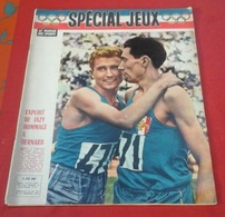 Miroir Des Sports N° Spécial Jeux Olympiques Rome 1960 Michel Jazy,Wilma Rudolph,Murray Rose,Berruti... - Sport