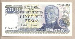 Argentina - Banconota Non Circolata FdS Da 5000 Pesos P-305b.2 - 1982 - Argentina