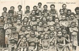 Cpa Ononghe  L'ecole - Papua New Guinea