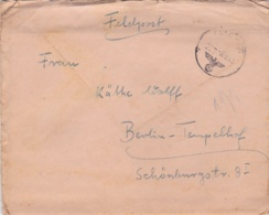 German Feldpost WW2: From Africa - Stab I Panzer-Regiment 5  FP 28770 P/m 9.9.1941 - Several Letters - Militaria