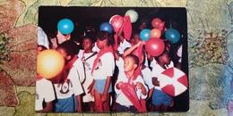 Angola. A. Neto. Communism Propaganda  - Pioneer - Old Postcard 1970s - Angola