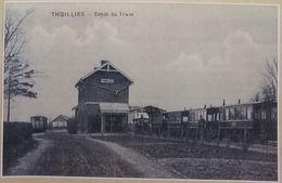 Thuillies Dépôt Du Tram (Reproduction - Photo) - Thuin