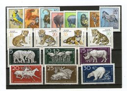 Lot Tiere (DDR) ** - Stamps