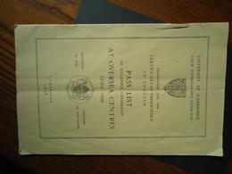 UNIVERSITY PASS LIST 1948 CAMBRIDGE OVERSEA CENTRES  4 SCAN - Livres, BD, Revues