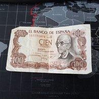 100 Cien Pesetas Banco De Espana 1970 - [ 3] 1936-1975 : Régence De Franco