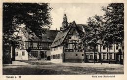 Hanau, Blick Vom Stadtschloß, 1936 - Hanau