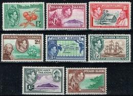 Pitcairn - 1940 - Y&T N° 1* à 8*, Neufs Avec Traces De Charnières - Timbres
