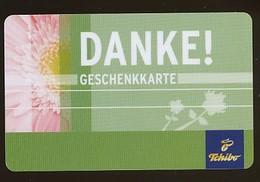 GERMANY Geschenkkarte Tchibo - Danke - Siehe Scan - 10717 - Deutschland