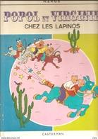 BD POPOL ET VIRGINIE Chez Les Lapinos (hergé Casterman ) 1968 - Hergé