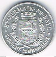 FRANCE : Nécessité : St GERMAIN En LAYE - 5 Cts 1918 - Monetary / Of Necessity