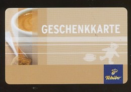 GERMANY Geschenkkarte Tchibo - Geschenkkarte - Siehe Scan - 10719 - Deutschland
