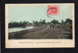 Gambie / Bathurst ( Gambia River ) / Part Of The Native Village By The River Side - Gambia