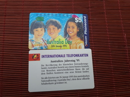 Phonecard Australia New With Certificate - Australia