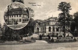 """Hannover, Das Alte """"Neue Haus"""" Und Das Neue Haus, Feldpost 1917 - Hannover"""