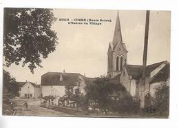 70 - Corre  ( Hte-Saône ) - L' Entrée Du Village. Carte Colorée - Autres Communes