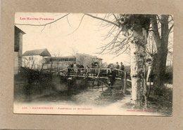 CPA - MAUBOURGET (65) - Aspect Du Quartier De La Passerelle Du Bouscaret En 1907 - Maubourguet