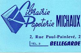 Buvard Michaux . Bellegarde-sur-Valserine . - Stationeries (flat Articles)