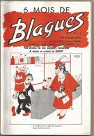 DUBOUT Album Blagues N° 4 (n°19 à N°24) 1955 Dimensions 18 X 27 Cm 96 Pages 6 DESSINS ILLUSTRATEUR DUBOUT COUVERTURE - Livres, BD, Revues