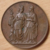 Médaille LOUIS-PHILIPPE Ier / A  L'Héroïque Pologne 1831 - Professionals/Firms