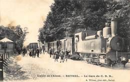 RETHEL.  LA GARE DE C.B.R. - Rethel