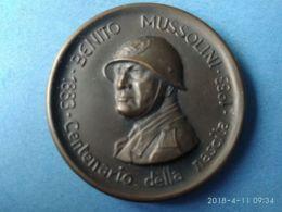 Benito Mussolini Centenario Nascita 1983 - Italia