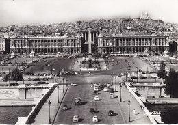 PARIS – Vue Générale De La Place De La Concorde (traction 2cv 4cv Panhard Dauphine …) - Places, Squares