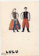FOLKLORE 80 ; Costumes Italiano Bologne - Costumi