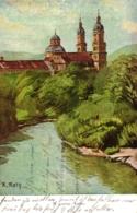 Kempten, St. Lorenz-Kirche, Künstlerkarte, Sign. R. Rath, 1911 - Kempten