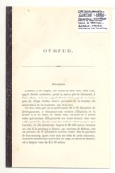 Article Relié De 1880 Concernant L'Ourthe (b239) - Cultural