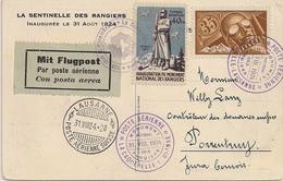 Aviation - Monument Des Rangiers - Vol Delémont-Lausanne - 1924 - Otros
