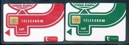 MALTA - 2 Verschiedene Telefonkarten - Siehe Scan - 10726 - Malta