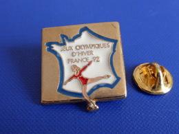 Pin's Jeux Olympiques Albertville 1992 - JO D'hiver France 92 - Patinage Artistique (PH58) - Jeux Olympiques