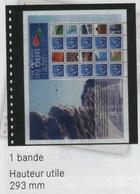 Paquet De 10 Feuilles OMNIA 01 Noires Lindner  à Moins 50 % - Albums & Reliures