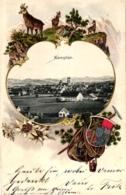 Kempten, Wappen-Prägekarte, 1902 - Kempten