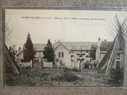 Saint Julien . Maison Blavier . Commerce De Houblon - France
