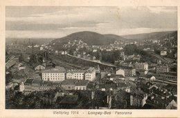 Weltkrieg   1914 -   Longwy - Bas  Panorama. - France