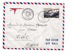 Lettre 1952 N°928 Seul Sur Lettre Par Avion à Destination Alger Algérie 28.10.1952 Cachet Départ Noisy Le Sec 27.10.1952 - Marcophilie (Lettres)