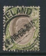 TRANSVAAL, Postmark CLEVELAND - Zuid-Afrika (...-1961)