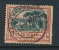 TRANSVAAL, Postmark KAAPSCHE HOOP - África Del Sur (...-1961)