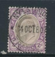 TRANSVAAL, Postmark NIJLSTROOM - Zuid-Afrika (...-1961)