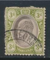 TRANSVAAL, Postmark ST GEORGE - Zuid-Afrika (...-1961)