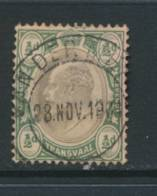 TRANSVAAL, Postmark VAN DER MERWE - Zuid-Afrika (...-1961)