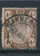 TRANSVAAL, Postmark WAKKERSTROOM - Zuid-Afrika (...-1961)