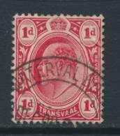 TRANSVAAL, Postmark WATERVAL  BOVEN - Zuid-Afrika (...-1961)